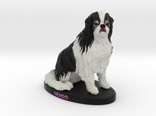 Custom Dog Figurine - Hugo in Full Color Sandstone