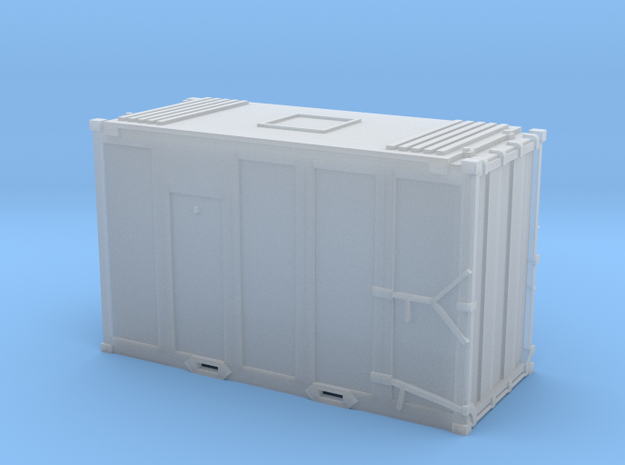N scale 1/160 MSW Trash Container in Smooth Fine Detail Plastic