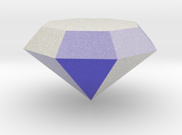 Diamond in Full Color Sandstone