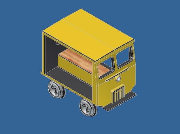 z Gauge 1:220 Fairmont Speeder Typ 2  in Smooth Fine Detail Plastic