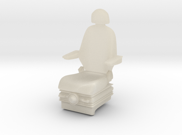 Sedile in White Acrylic