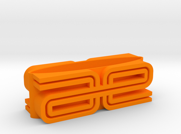 RC10 Display Stand in Orange Strong & Flexible Polished
