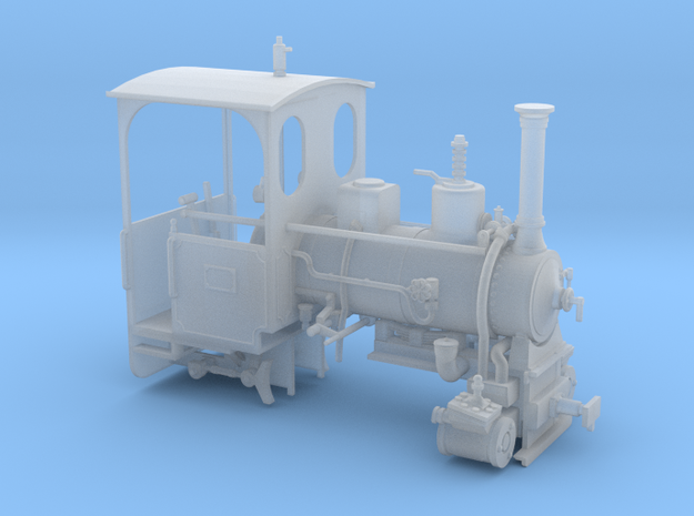 No. 173 1:45 Stripped in Smooth Fine Detail Plastic