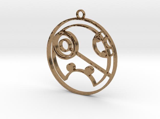 Shyanne - Necklace in Raw Brass