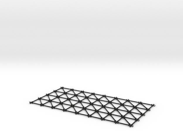 Simulation Mesh - One Diagonal 3d printed
