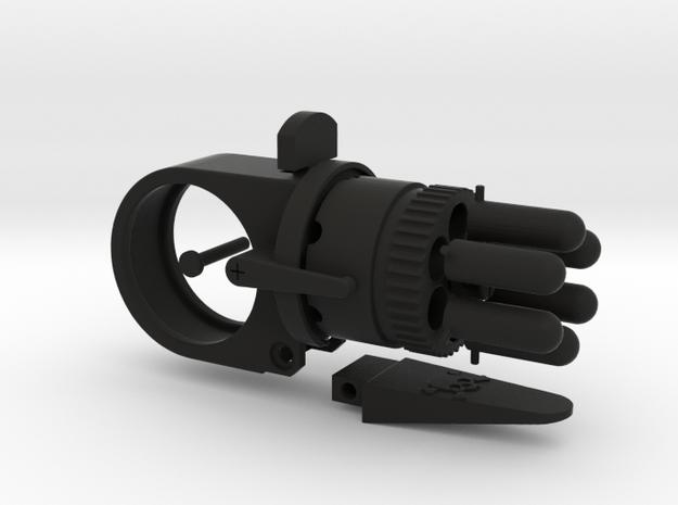 Steampunk Gun Ring 'Fixed Barrel' - 9 parts