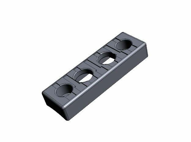 Low profile control box (V1) in White Natural Versatile Plastic