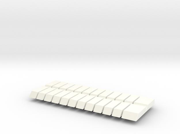 Set of 24 JP Piano Keys
