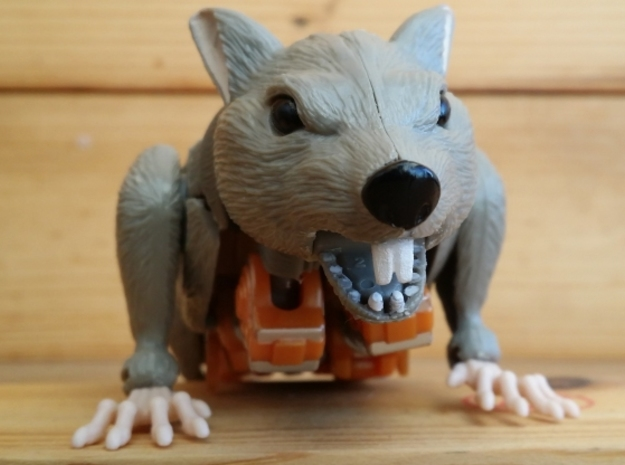 Rattrap's Really Ratlike Teeth