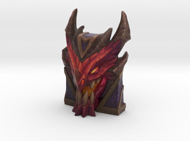Braum - Dragonslayer Shield - 50mm in Full Color Sandstone