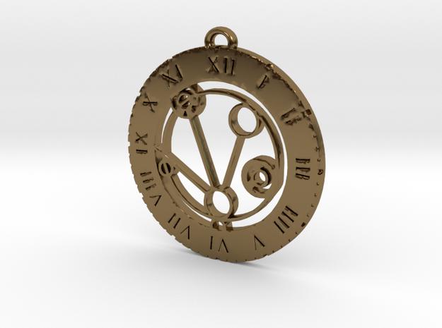 Mackenzie - Pendant in Polished Bronze