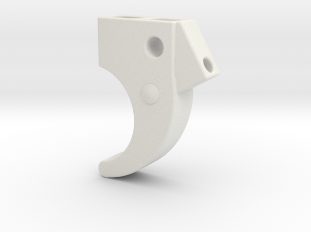 P40 Trigger in White Strong & Flexible