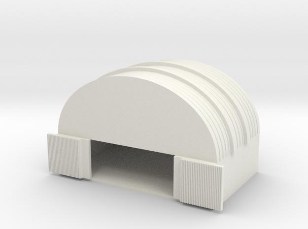 1/600 Medium Hanger in White Natural Versatile Plastic