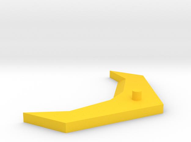 Cloud Rodimus Wing Upgrade in Yellow Processed Versatile Plastic