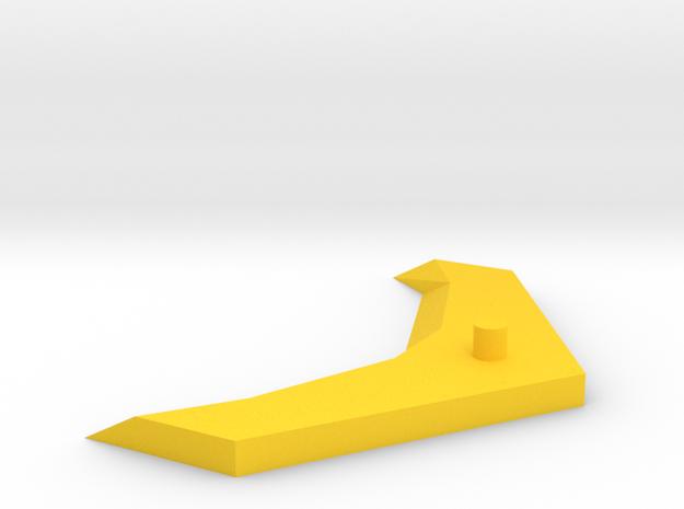Cloud Rodimus Wing Upgrade 2 in Yellow Processed Versatile Plastic