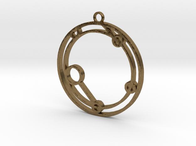 Ieuan - Necklace in Natural Bronze