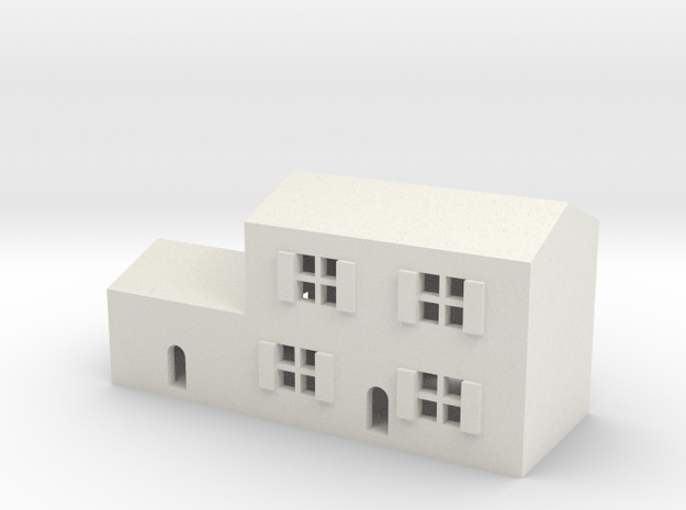 1/600 Town House 3 in White Strong & Flexible