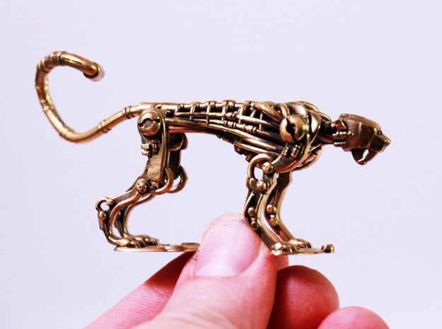 ~cheetah 2 Piece 50% in Natural Brass