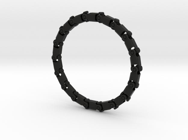 Bracelet V3 18seg Small in Black Strong & Flexible
