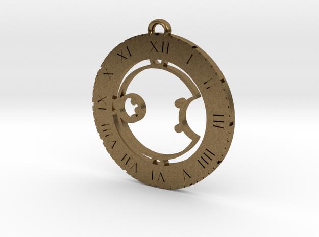 Ashala - Pendant in Natural Bronze