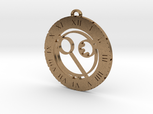 Alana - Pendant in Natural Brass