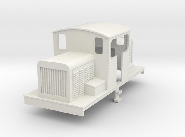 OO Freelance centercab diesel loco v2 3d printed
