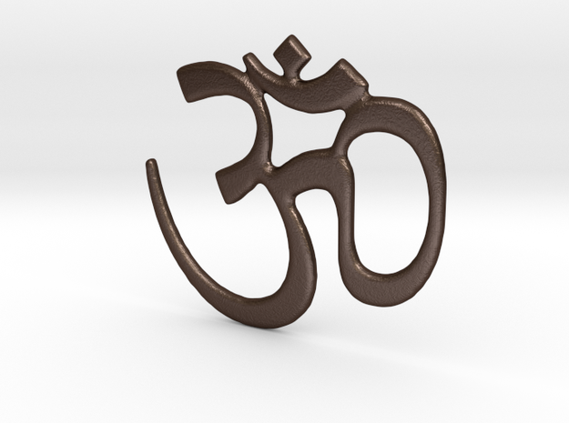 Om Symbol - 4 Inches 3d printed