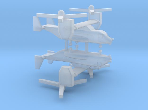 1/700 CV-22 / MV-22 Osprey (x2) in Smooth Fine Detail Plastic