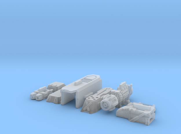 1/60 '19-Style Arm Cannon (Left) 3d printed