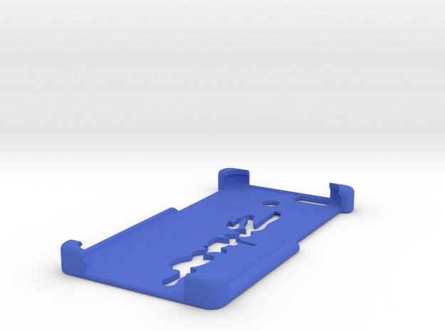 Iphone 6 case (Supra logo) in Blue Processed Versatile Plastic