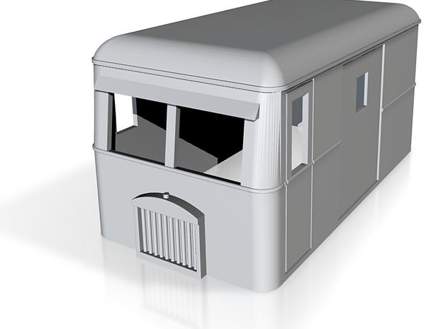 OO9 rail bus 4w goods 3d printed