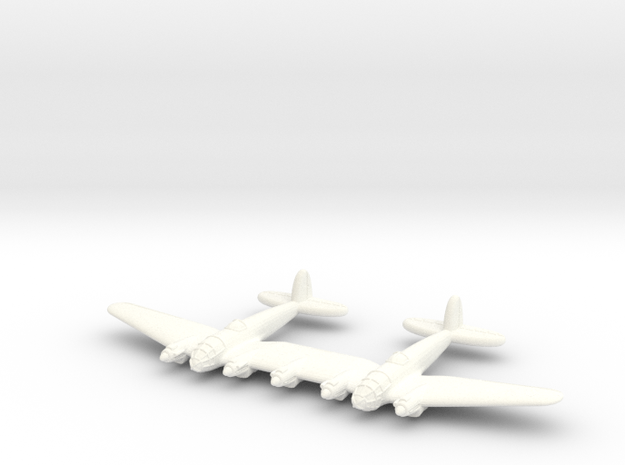He-111Z-600-(Qty. 1) in White Processed Versatile Plastic