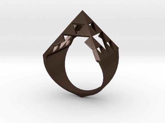 Sierpinski Pyramid Ring