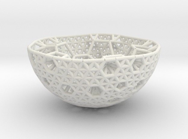 Cell Sphere 9 - Hex Pent Bowl
