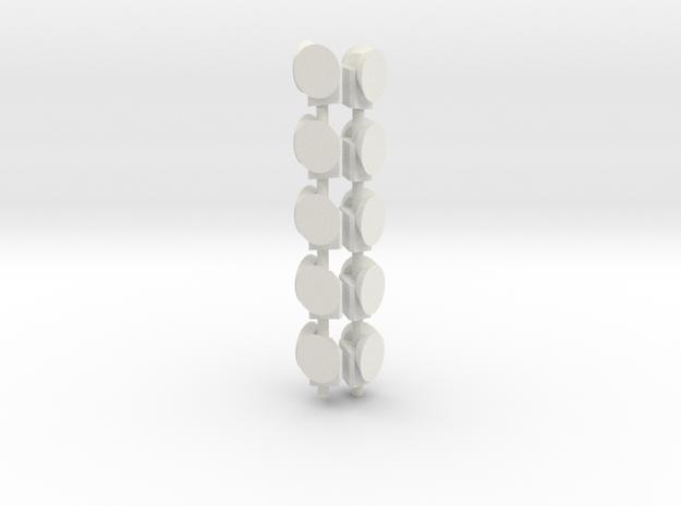 Dachsignal Wien in White Strong & Flexible