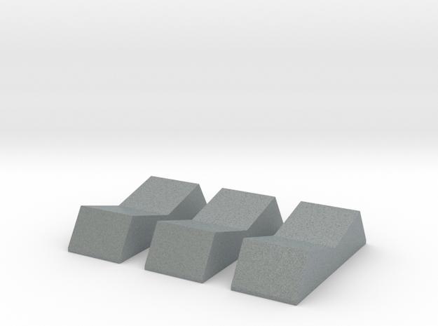 ROTS Grey Rockers in Polished Metallic Plastic