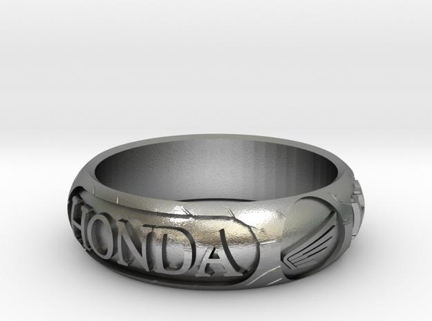 "Honda Tire Size Q 1-2 - 58 - 2"" 3/8 in Natural Silver"