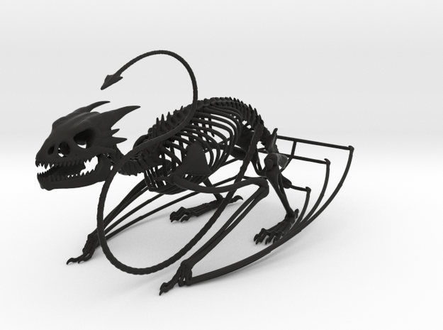 Horned Wyvern Skeleton