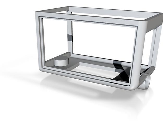 scaled hood frame 3d printed