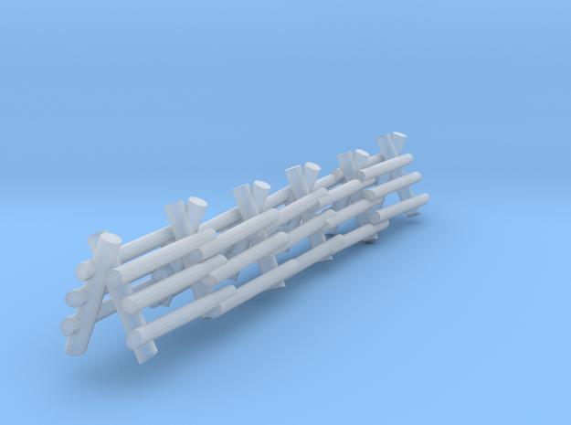 3 Rail A Frame Fence