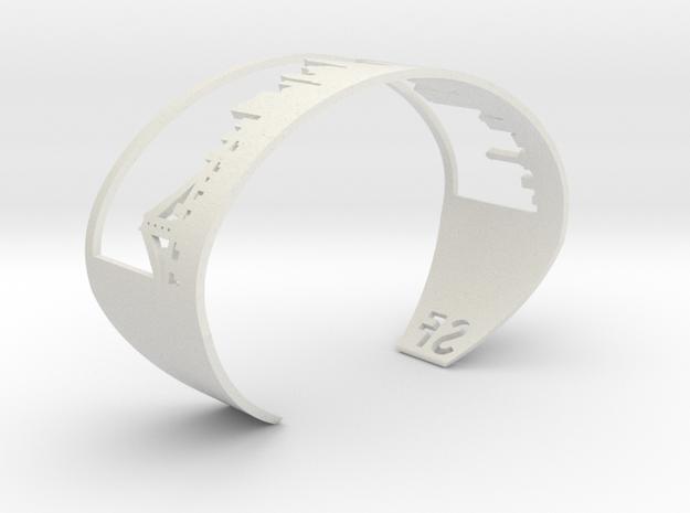 Bracelet Sf Skyline in White Strong & Flexible
