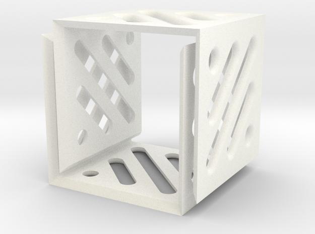 Legend Cubes Case II in White Processed Versatile Plastic