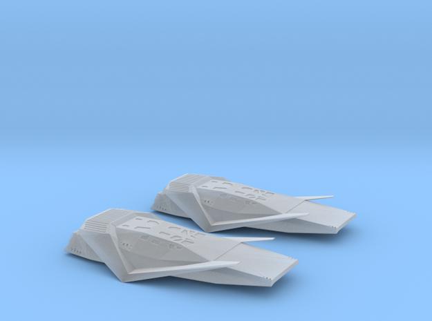 1/200 INTERSTELLAR RANGER SCOUT CRAFT (2 MODELS) in Smooth Fine Detail Plastic