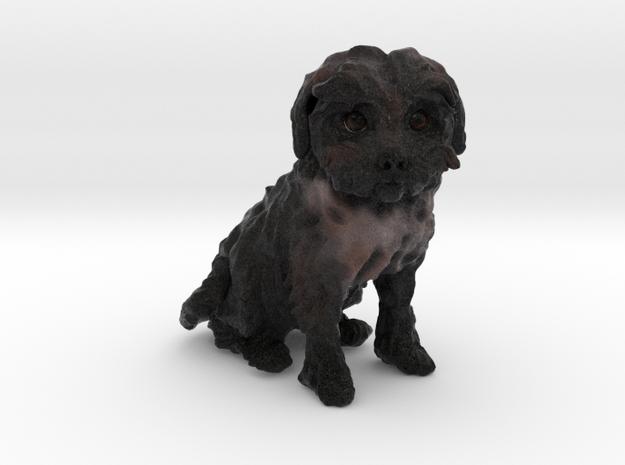 Custom Dog Figurine - Tinkerbell in Full Color Sandstone
