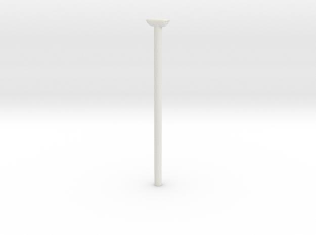 Busstoppested 1/87 in White Natural Versatile Plastic