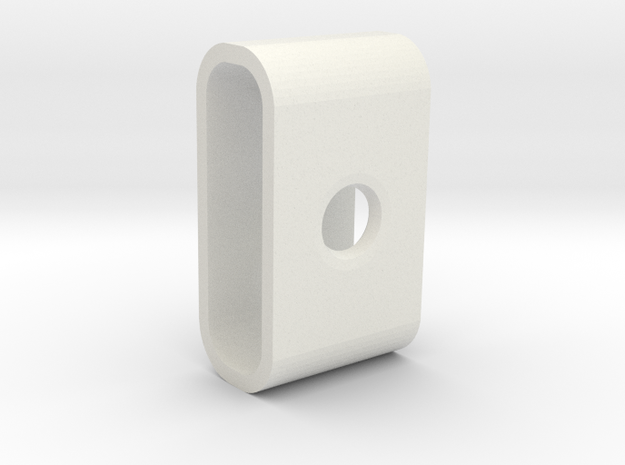 MagShade 2 (cover for MagSafe 2 charging light) in White Natural Versatile Plastic