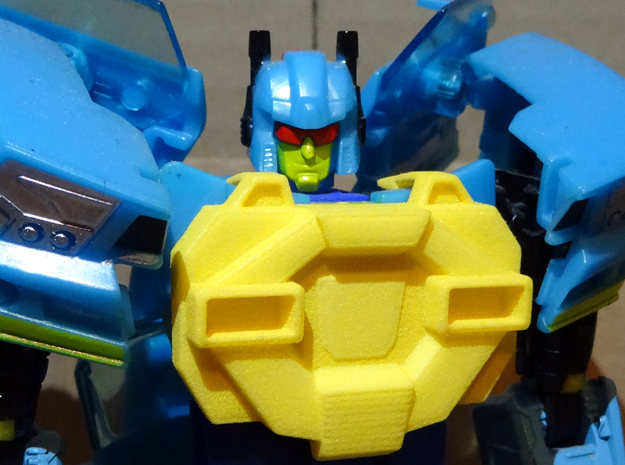 Gen. Nightbeat Upgrade Kit #4 - G1 Comic Chest