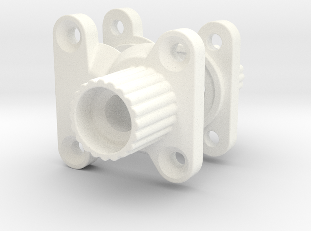 Wrapter V2 for the Gmade R1 Rock Crawler in White Strong & Flexible Polished