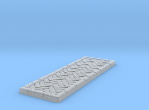 Brick's floor 1x3 in Smooth Fine Detail Plastic