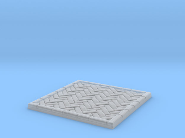 Brick's floor 2x2 in Frosted Ultra Detail